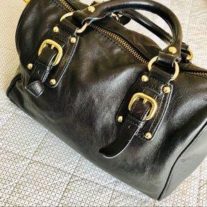 Steven Madden black satchel